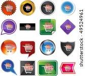 shopping cart | Shutterstock .eps vector #49524961
