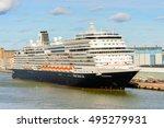 helsinki  finland   sep 12 ... | Shutterstock . vector #495279931