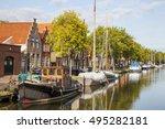Gracht In Edam  Netherlands