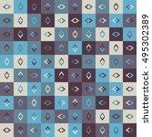 vector background abstract... | Shutterstock .eps vector #495302389