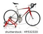 race road bike with... | Shutterstock . vector #49532320