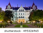 albany  new york  usa at the... | Shutterstock . vector #495326965