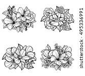 flower set | Shutterstock . vector #495336991