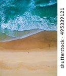 surfing aerial | Shutterstock . vector #495339121