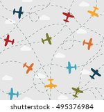 Baby Boy Seamless Pattern With...