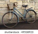 Vintage Bicycle Leaning Agains...
