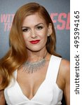 isla fisher at the los angeles... | Shutterstock . vector #495394165