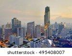 bangkok  thailand  august 28 ... | Shutterstock . vector #495408007