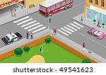 city streets   Shutterstock . vector #49541623