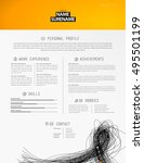 creative simple resume template ...