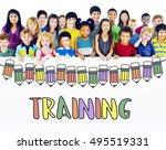 training education school... | Shutterstock . vector #495519331
