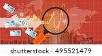 foreign investment global money ...   Shutterstock .eps vector #495521479