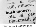 Small photo of Hush money