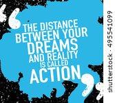 motivation concept  ...   Shutterstock .eps vector #495541099