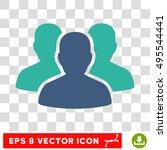 vector user group eps vector... | Shutterstock .eps vector #495544441