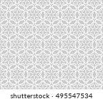 seamless vector geometric... | Shutterstock .eps vector #495547534