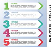 options banners.info graphic...   Shutterstock .eps vector #495576781