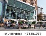 milan  italy   september 27 ... | Shutterstock . vector #495581089