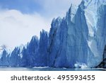 Giant Wall Of Glacier Perito...