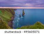 Duncansby Stack At Sunrise