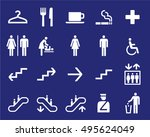 office or shoping center...   Shutterstock .eps vector #495624049