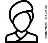 spa icon | Shutterstock .eps vector #495626407