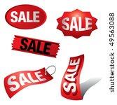 sale icon | Shutterstock .eps vector #49563088