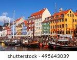 copenhagen  denmark   september ...   Shutterstock . vector #495643039