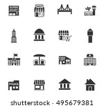 infrastructure web icons for... | Shutterstock .eps vector #495679381
