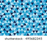 seamless triangle background... | Shutterstock .eps vector #495682345