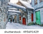 st. catherine's passage in... | Shutterstock . vector #495691429