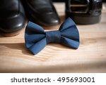 businessman accessories. man's... | Shutterstock . vector #495693001