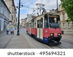 this is a view of street of... | Shutterstock . vector #495694321