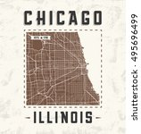 Free vector art city of chicago map vectors 14150 downloads found