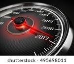 2017 Year Car Speedometer...