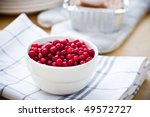 cowberry - stock photo