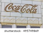 indianapolis   circa october... | Shutterstock . vector #495749869