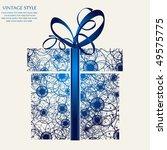gift | Shutterstock .eps vector #49575775