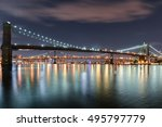View Of The Brooklyn  Manhatta...