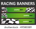 racing web banners | Shutterstock .eps vector #49580389