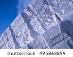 paper and pulp mill   detail of ... | Shutterstock . vector #495863899