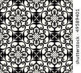 ornamental seamless background  ... | Shutterstock .eps vector #49589401
