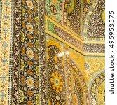 in iran  blur  islamic...   Shutterstock . vector #495953575