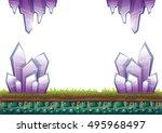 cartoon vector mine game object ...