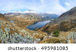 stunning panorama of valley of... | Shutterstock . vector #495981085