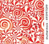seamless pattern background... | Shutterstock .eps vector #495997099