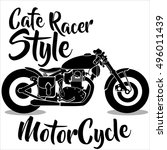 motorcycle icons | Shutterstock .eps vector #496011439