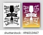 concept illustration of drink... | Shutterstock .eps vector #496013467
