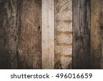 Old Wooden Background  Vintage...