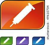 syringe | Shutterstock .eps vector #49610704